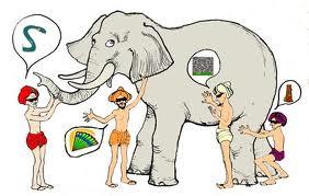 Los tres ciegos y el elefante