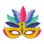 La máscara de carnaval